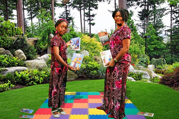 Mom and daughter both award winning authors